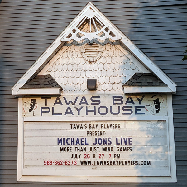 Michael Jons LIVE at Tawas Bay Playhouse